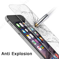 Tempered Glass Screen Protector for Samsung Galaxy S4 Mini Protective - BLUENYLEDIRECT