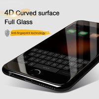 Bakeey 4D Curved Edge Cold CarvingTempered Glass Screen Protector For iPhone 6 6s 4.7 Inch - BLUENYLEDIRECT