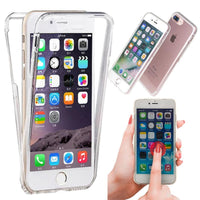 360º Front+Back Touch Screen TPU Clear Case For iPhone 5 5s SE - BLUENYLEDIRECT
