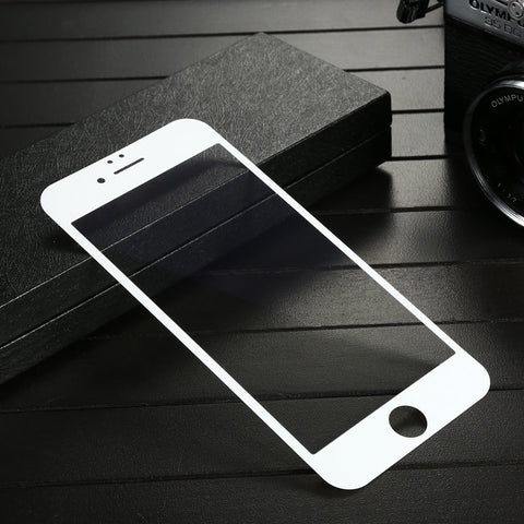 Baseus PET 0.23mm 3D Frosted Arc Edge Anti Blue Light Scratch Resistant Tempered Glass Film For iPhone 6 6s - BLUENYLEDIRECT
