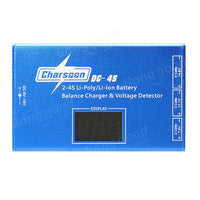 Charsoon DC-4S 2-4S Li-poly/Li-ion Battery Balance Charger & Voltage Detector with Power Adapter - BLUENYLEDIRECT