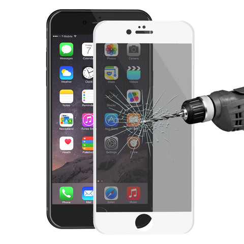 ENKAY Anti Spy 3D Arc Edge 0.26mm 9H Carbon Fiber Tempered Glass Screen Protector for iPhone 6 6s - BLUENYLEDIRECT