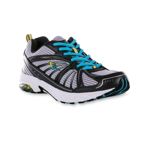 Everlast® Women's Quinn Athletic Shoe - Black/Silver - BLUENYLEDIRECT