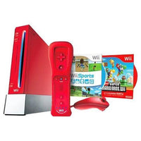 Nintendo Wii Gaming System Red 25th Anniversary Limited Edition - RVLSRAAK (REFURBISHED) - BLUENYLEDIRECT