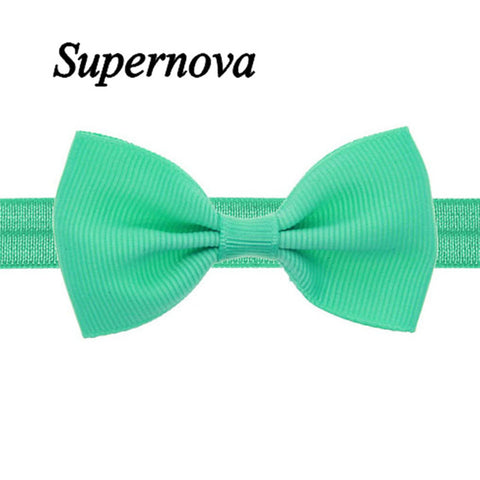 Multicolor Bowknot Mini Headbands girl hair accessories - BLUENYLEDIRECT
