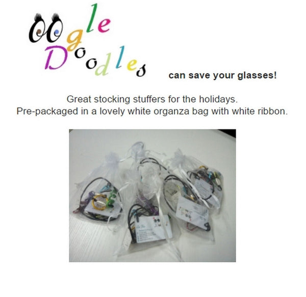 OOgleDoodles glasses necklace - a fashion statement.