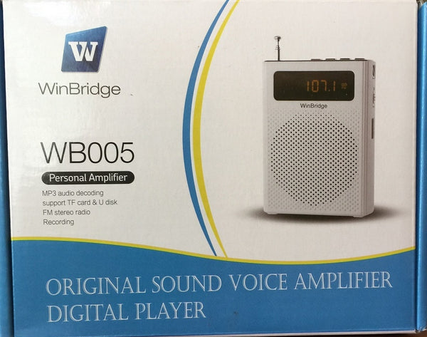 Genuine WinBridge Original Sound Voice Amplifier Digital Player WB005