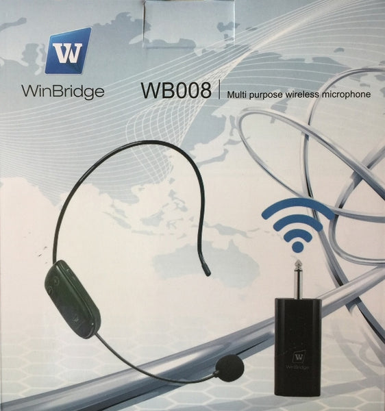 Genuine WinBridge Multi-Purpose Wireless Microphone Mic WB008