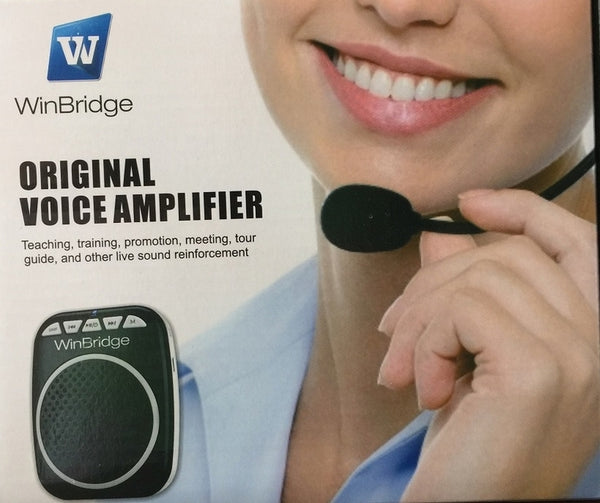 Genuine WinBridge Wireless UHF Voice Amplifier WB711