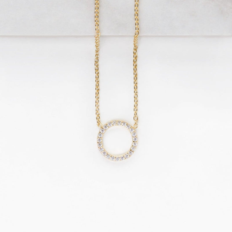 Collar Stylish Circonitas Oro