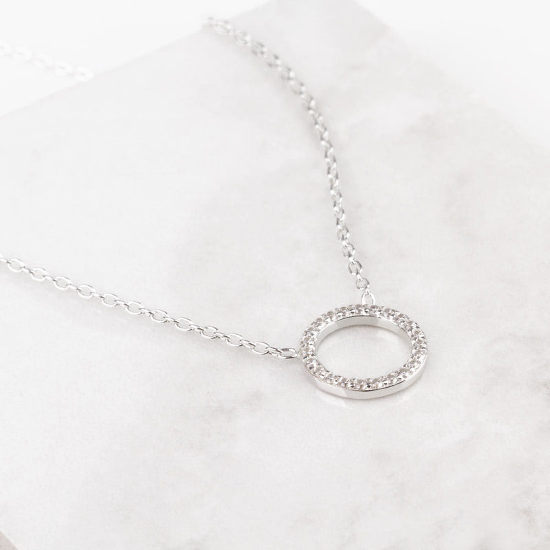 Collar Stylish Plata