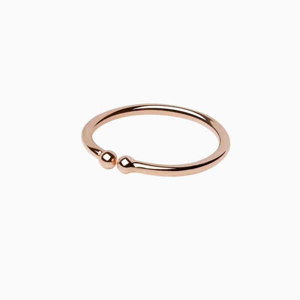 Anillo Stylish Oro Rosa