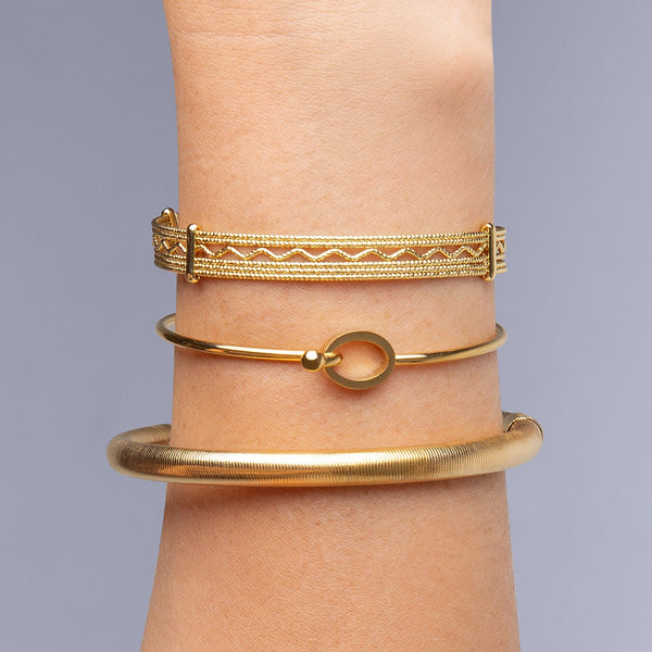 Brazalete Bloom Oro