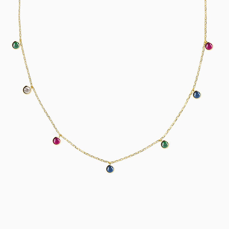Collar Iconic Multicolor Oro