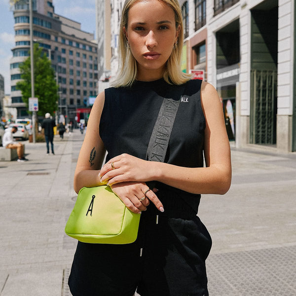 Shoulder Bag Lime Kalk