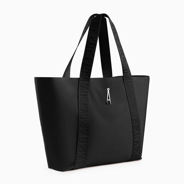 Shopper Bag Black Kalk