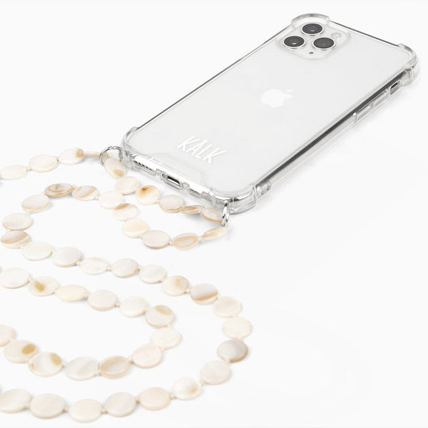 Funda iPhone White Nacre