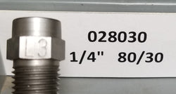 "Sealcoat Spray Tip 1/4"" NPT (80/30x1/4"")"