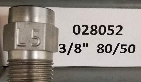 "Sealcoat Spray Tip 3/8"" NPT (80/50x3/8"")"