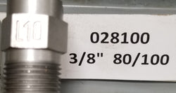"Sealcoat Spray Tip 3/8"" NPT (80/100x3/8"")"