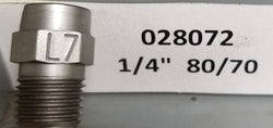 "Sealcoat Spray Tip 1/4"" NPT (80/70x1/4"")"
