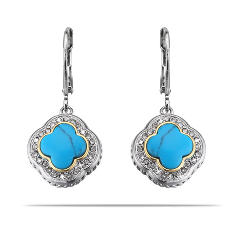 Quatrefoil Halo Earrings