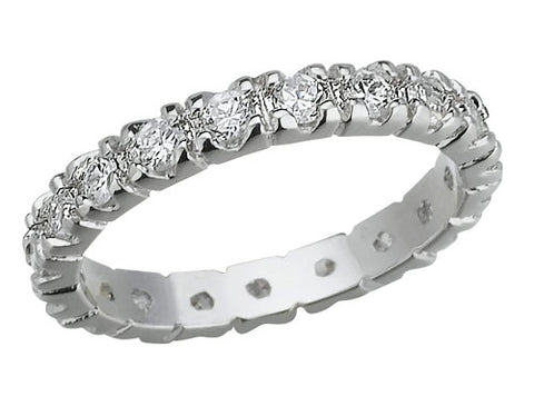 Bezel Eternity Band