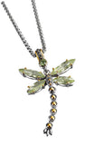 Dragonyfly Two-Tone Pendant