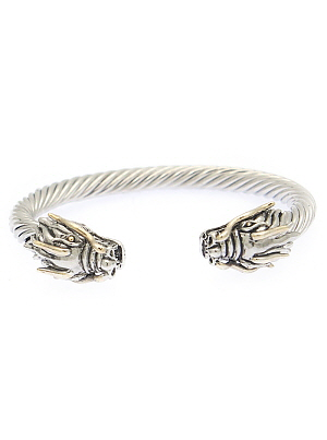 Dragon Accents Thick Cable Cuff