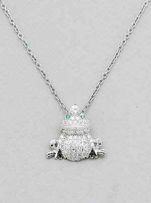 Pav frog pendant gk import pav frog pendant mozeypictures Image collections