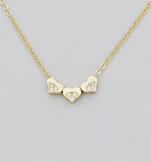 Three Hearts Charm