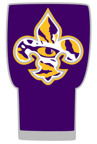 LSU Tumbler (20 or 30 oz Powder Coated) - FREE SHIPPING