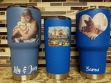Picture Tumbler (20 or 30 oz Powder Coated) - FREE SHIPPING