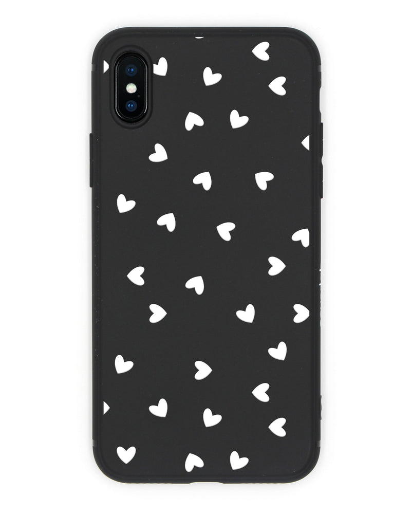 Black Hearts iPhone Case - Coverlab