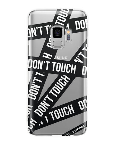 Cover Dont'Touch Nero Samsung - Coverlab