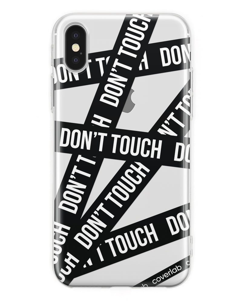 Dont'Touch Nero iPhone Case - Coverlab