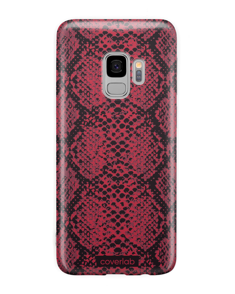 Red Snake Print Samsung Case - Coverlab