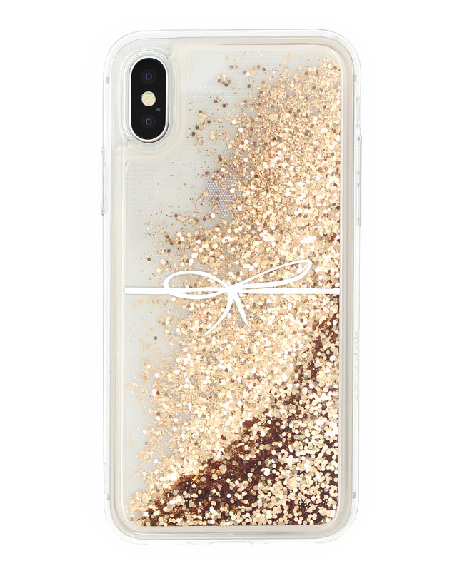 Bow Glitter iPhone Case - Coverlab