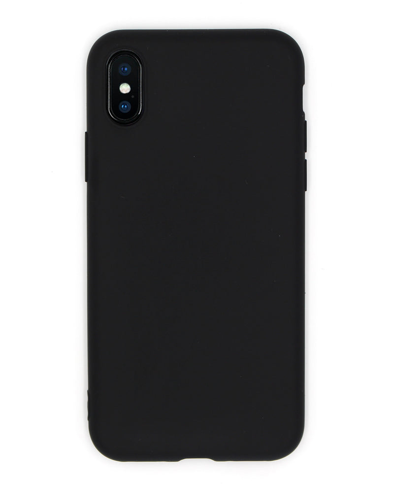 Cover Silicone Black iPhone - Coverlab
