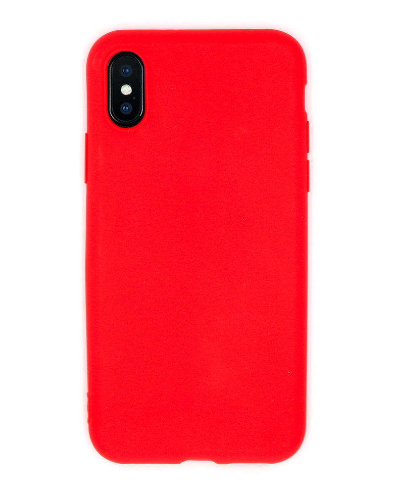 Cover Silicone Red iPhone - Coverlab
