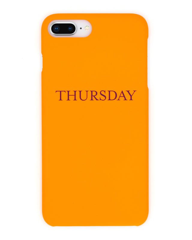 Thursday iPhone Case - Coverlab