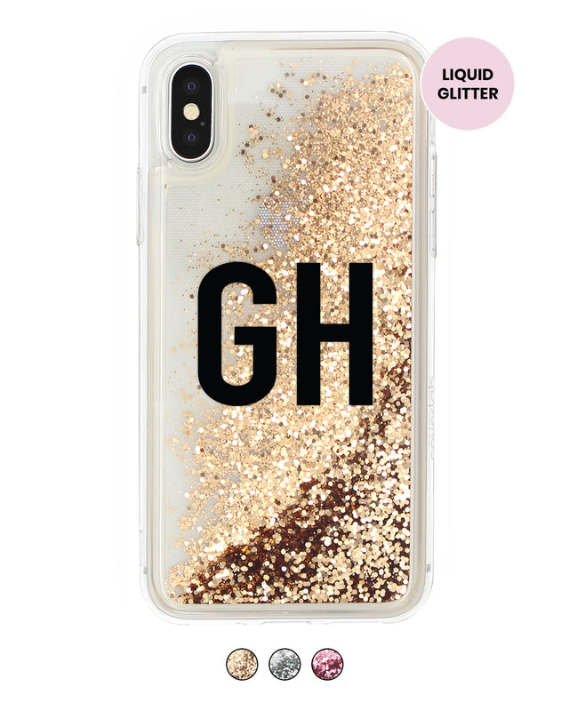 Custom Name Glitter iPhone Case - Coverlab
