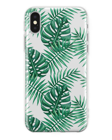 Cover Foglie Palme iPhone - Coverlab