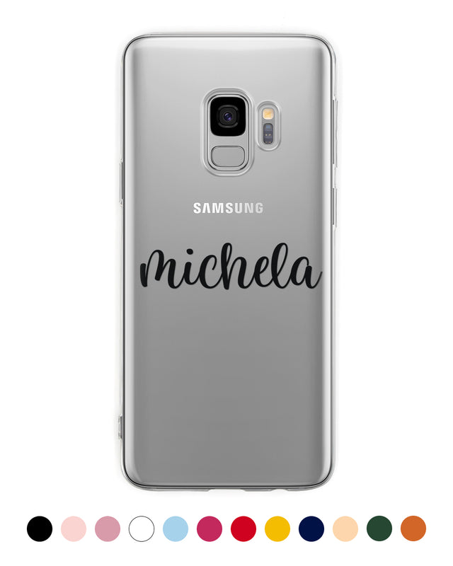 Custom Name Handwritten Samsung Case - Coverlab