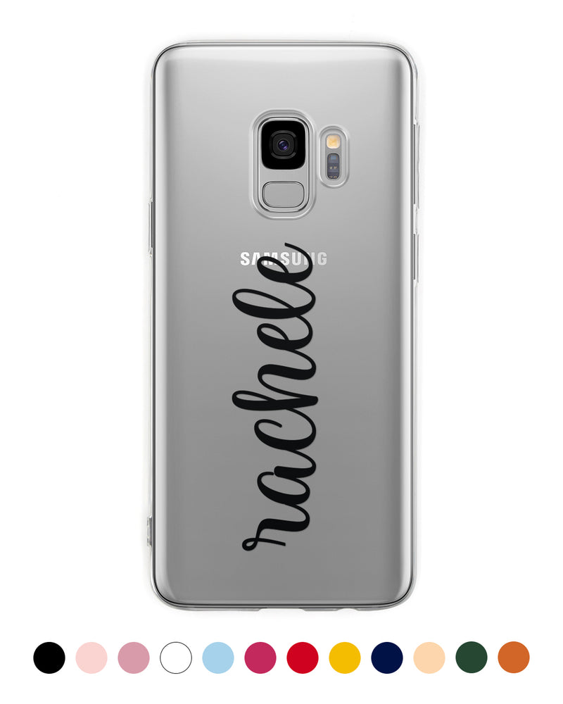 Custom Vertical Name Handwritten Samsung Case - Coverlab