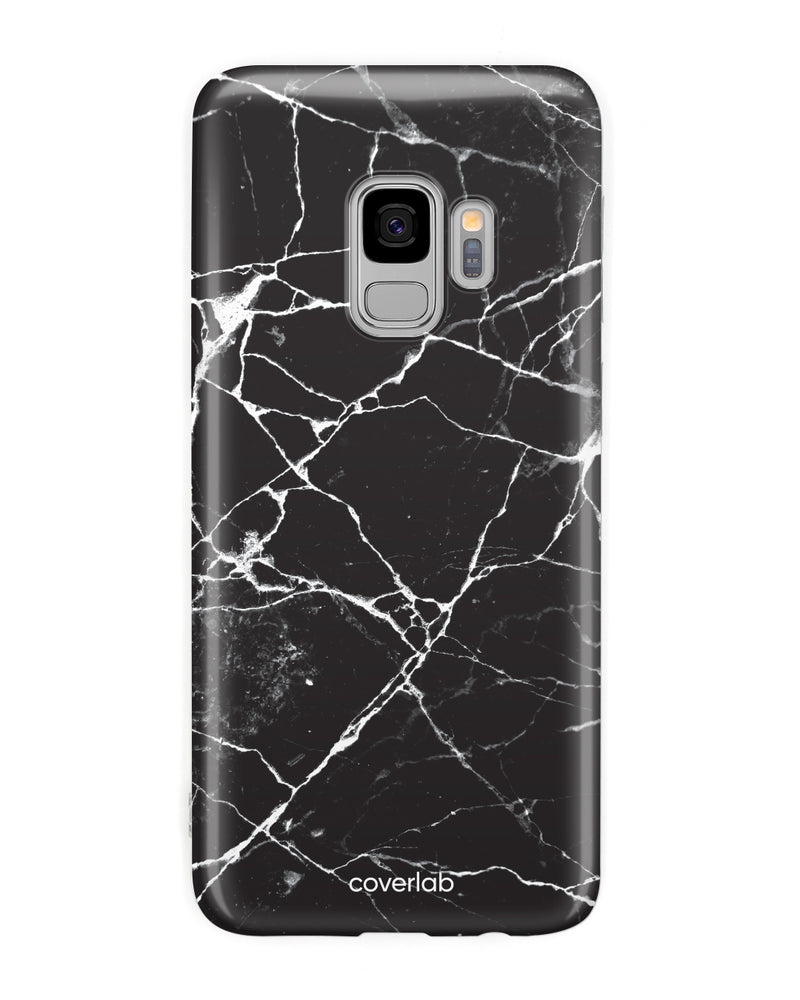 Black Marble Samsung Case - Coverlab