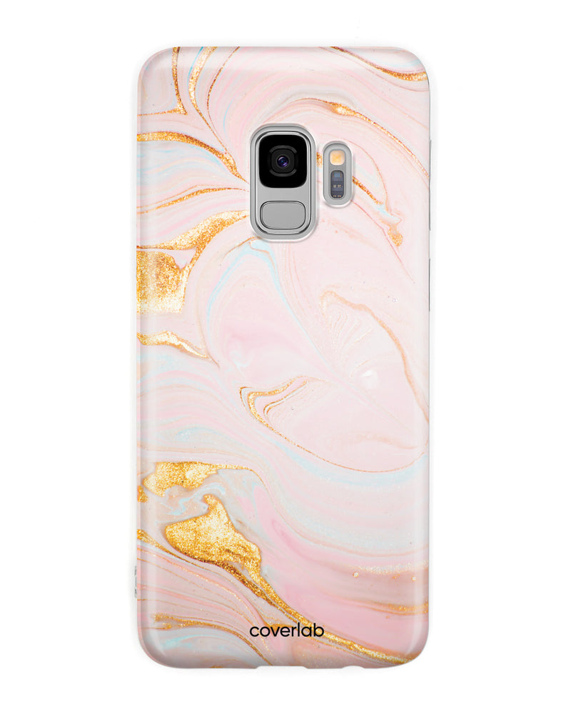 Rose Gold Marble Samsung Case - Coverlab