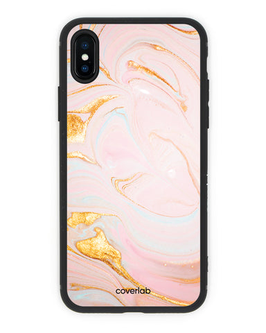 Rose Gold Marble iPhone Case - Coverlab