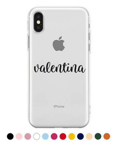 Cover Nome Handwritten Personalizzata iPhone - Coverlab