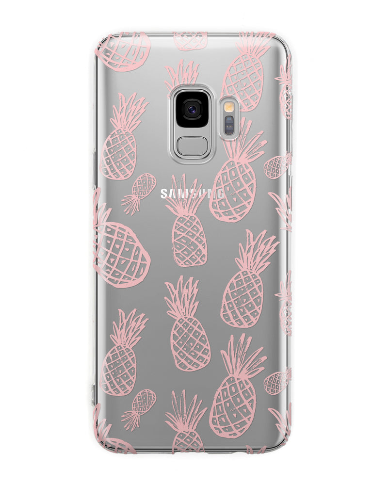 Pink Pineapple Samsung Case - Coverlab